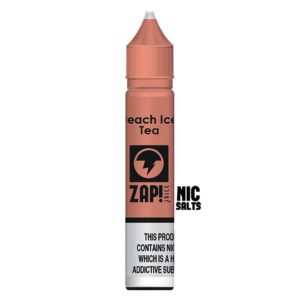 Zap! Peach Ice Tea Nic Salt